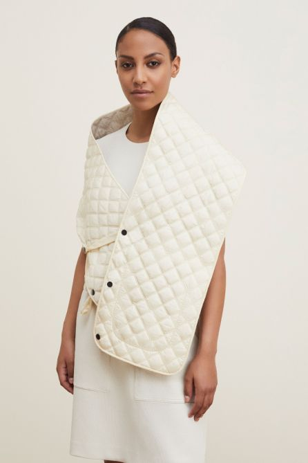 Reversible Quilted Scarf