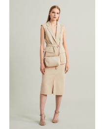 Transformable Desert Jacket + MiniBag - Eco-sustainable fabric