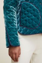 REVERSIBLE QUILTED JACKET WITH REMOVABLE COLLAR - Image 003
