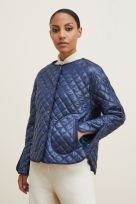 REVERSIBLE QUILTED JACKET WITH REMOVABLE COLLAR - Image 005