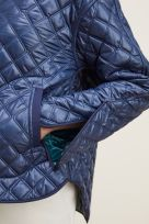REVERSIBLE QUILTED JACKET WITH REMOVABLE COLLAR - Image 006