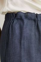 Reversible Double-Sided Fluid Blended Viscose Long Pants - Image 005