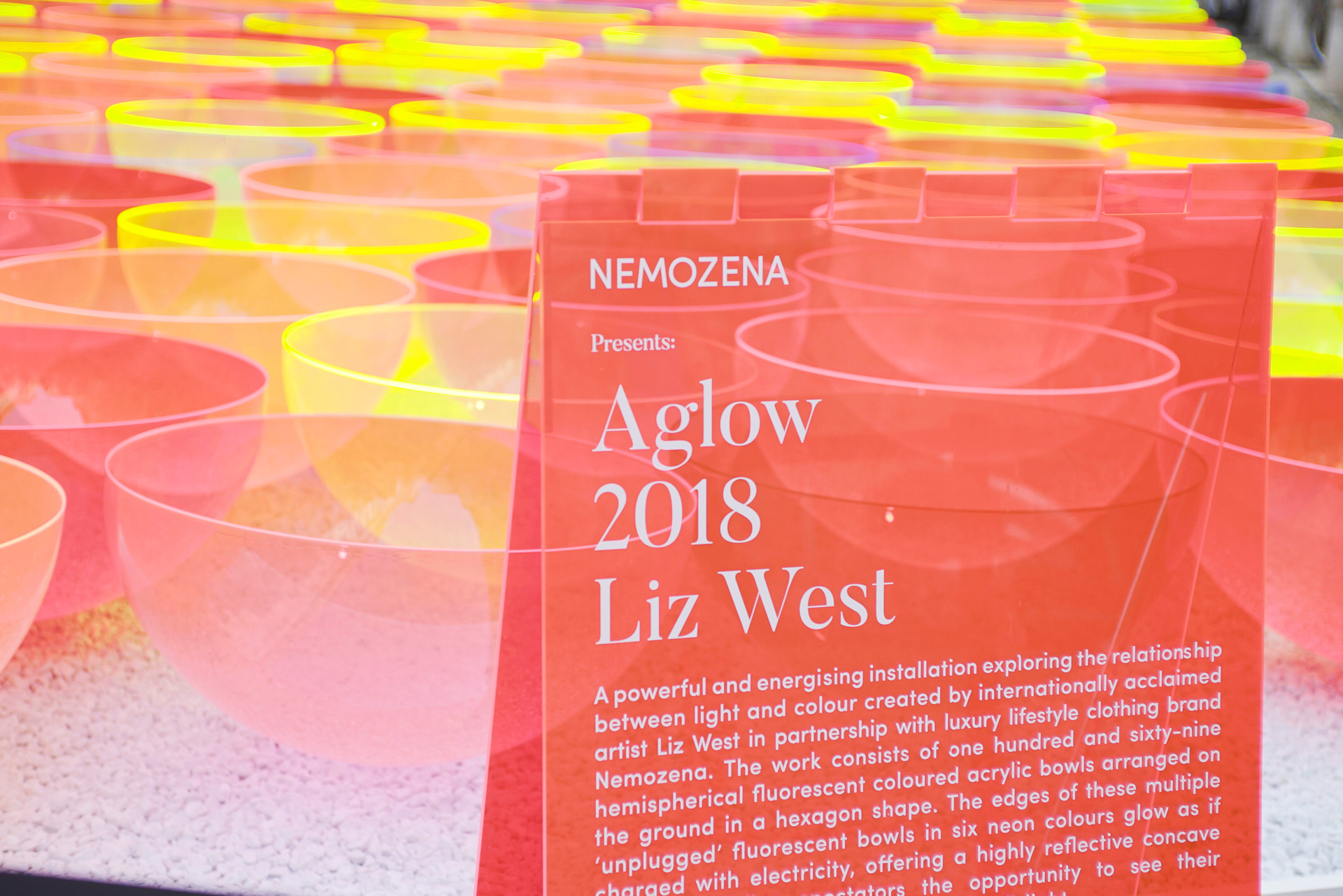 Aglow by Liz West x Nemozena